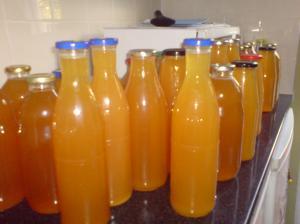 Lots of lovely juice!